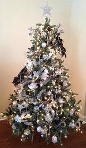 Lark Manor PreLit 85u0027u0027 White Spruce Trees Artificial Christmas Artificial Blue Spruce Christmas Tree