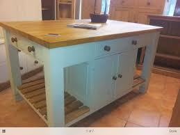 Unfinished Furniture Kitchen Island Bespoke Solid Wood Kitchen Island Unit With Oak Top From The