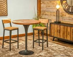 coffee table bar industrial pub table oak coffee table home bargains