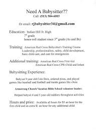 Babysitter Resume Template Nanny Resume Template Best 24 Job Examples Ideas On Sample 11