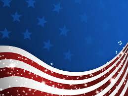 Red White And Blue Powerpoint Templates American Patriotic Flag Backgrounds Blue Flag Red White
