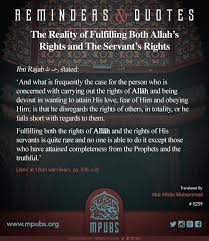 Rashid & rajab (2019) quotes on imdb: Hayaa Reminders Quotes The Reality Of Fulfilling Both Allah S Rights And The Servant S Rights The Allaamah Ibn Rajab