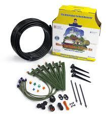 picture of 50 ft micro sprinkler starter kit