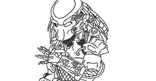 Small Picture predator coloring pages 28 images how to draw a xenomorph step