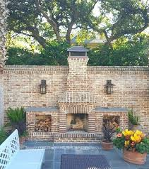 fireplaces ideas building outdoor brick