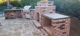 built in bbq. Old Brick BBQ/Fireplace Built In Bbq