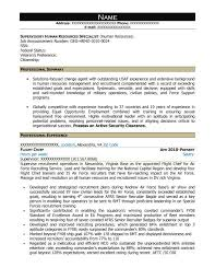 Free Federal Resume Sample From Resume Prime Enchanting Employment Specialist Resume