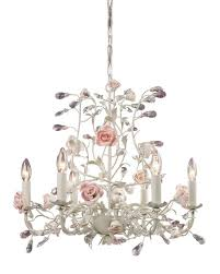 shabby chic mini chandeliers french country cottage rose porcelain chandelier vintage