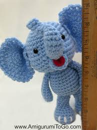 Crochet Stuffed Elephant Pattern Interesting Design