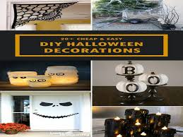 diy halloween decorations home. Easy Homemade Halloween Decorations - Home Decor And Inspiration Ideas, Interior Design, DIY Projects, Tips For All Rooms Of Your Home. Diy