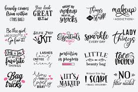 25 of the best free paper box and bag templates making your paper boxes and bags are a favorite among paper crafters. Makeup Bag Sayings Svg Saubhaya Makeup