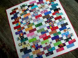 BABY BRICKS Quilt Pattern Charm Pack and Jelly Roll Friendly & 🔎zoom Adamdwight.com