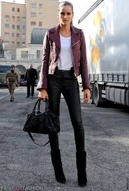 leather pants street style 6