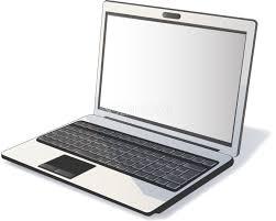 ノートパソコン 斜め向きビジネス無料イラスト14067 素材good