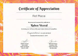 Certificate Of Excellence Template Word Beauteous Free Indesign Certificate Of Appreciation Template