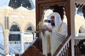 جريدة الرياض | الشيخ بندر بليلة يشكر القيادة بمناسبة الموافقة الكريمة  بتكليفه خطيبًا ليوم عرفة