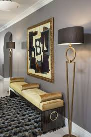 furniture for entrance hall. Entry/Foyer - Soft Dove Gray With Gold Overtones Stylized In A Modern Setting. Lush And Gorgeous. Furniture For Entrance Hall D