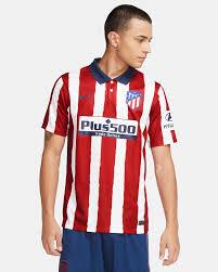 Atlético Madrid 2020/21 Stadium Home Men's Football Shirt. Nike GB