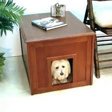 modern dog furniture. Dog Furniture Crate Modern Table Wooden Plans