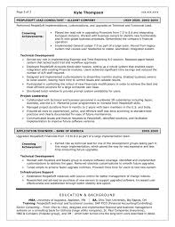 kyle thompson technical consultant - People Soft Consultant Resume