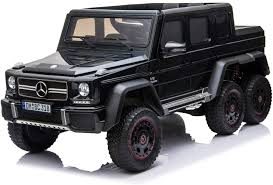 All products from benz g wagon 6x6 category are shipped worldwide with no additional fees. Amazon Com Licensed Mercedes Benz Amg G63 6x6 Electric Kids Ride On Car With Remote Control 4 Motors Openable Doors Pull Handle Spring Suspension Usb Mp3 And Bluetooth Black Toys Games