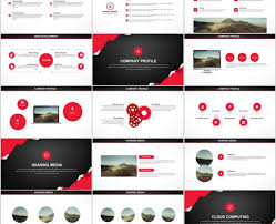 Red Black The Highest Quality Powerpoint Templates And