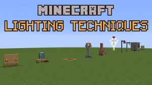 home lighting techniques.  Techniques Minecraft Build School Lighting Techniques YouTube In Home