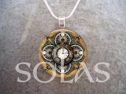vintage style steampunk pendant jewelry