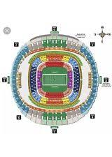 Saints Season Tickets Price Chart New Orleans Saints Second Row Sports Tickets Ebay