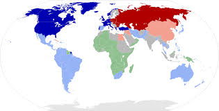 cold war  1959 world map of alignments
