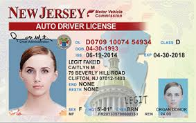 New Id Jersey Cards Legitfakeid Ids Scannable Fake