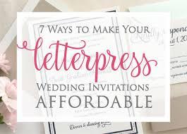 7 ways to make your letterpress wedding invitations affordable Wedding Invitations With Letterpress affordable letterpress wedding invitations wedding invitations letterpress affordable