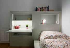 this modern kids bedroom furniture has been designed to keep things organized with built in