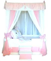 little girl canopy bed – COMEALIGHT