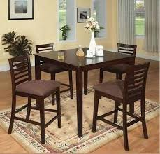 counter high dining table set peaceful high kitchen tables kitchen table set cedar dining room set