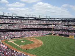 Globe Life Park Texas Rangers Ballpark Ballparks Of Baseball