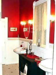 red bathroom wall decor red bathroom decor ideas red bathroom decor ideas red and black bathroom