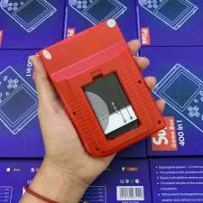 Máy Chơi Game Cổ Điển 4 Nút Cầm Tay SUP GAME BOX 400 IN 1 PLUS - Máy Chơi  Game Cổ Điển 4 Nút Cầm Tay SUP GAME