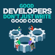 Good Developers Dont Just Write Good Code Simple Programmer