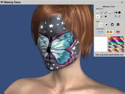screenshots of virtual fashion makeup 1 0