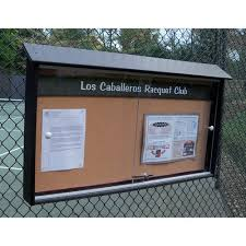 Outdoor Message Center Model 40 With Lexan Doors Extraordinary Exterior Bulletin Boards Model Collection