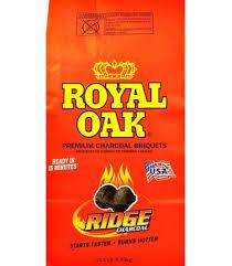 Lighting Royal Oak Charcoal 15 4 Lbs Royal Oak Charcoal Briquettes Slickdeals Net
