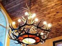 white antler chandelier canada chandeliers medium size of design