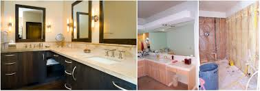 Bath Remodel - Remodeled bathrooms before and after