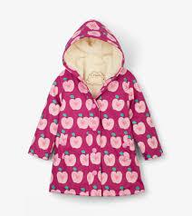 Hatley Size Chart Us Apple Orchard Sherpa Lined Splash Jacket