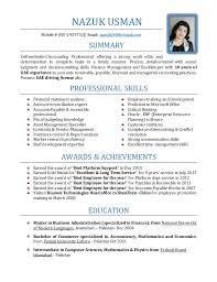 Professional Accountant Resume Nazuk Senior Accountant Resume With 10 Yrs Of Uae Exp