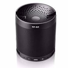 speakers bluetooth portable. hfq3 fashion speakers bluetooth portable with phone dock support aux tf fm metal 3d stereo k