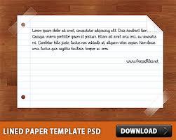 free lined paper template free lined paper template psd at freepsd cc