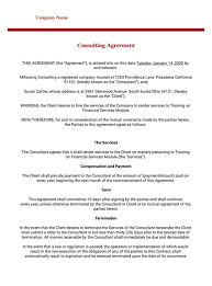 Download this free sample maintenance contract below and have it customized by an attorney for your unique legal needs today. Consulting Agreement Template Pdf Templates Jotform