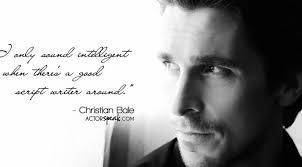 Christian Bale Quotes Best Of WALLPAPER Christian Bale Quote On Acting With Photo ActorSpeak